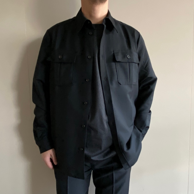 Acne Studios アクネストゥディオズ Sumaco Wo Mh ウールシャツ 1.jpg