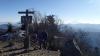 2016年1月4日の雲取山山頂
