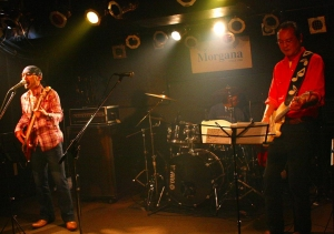 ドラム 林さん、ギター 山口さん