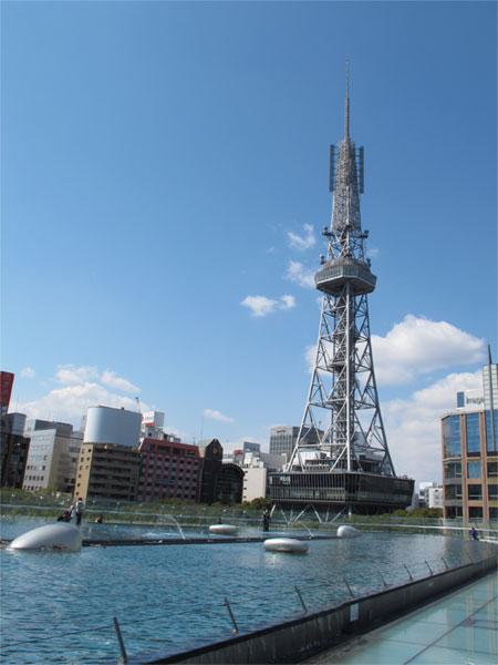 屋上からのテレビ塔