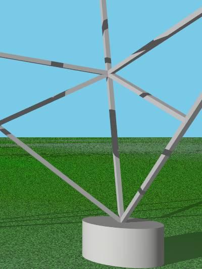 パイロン角柱