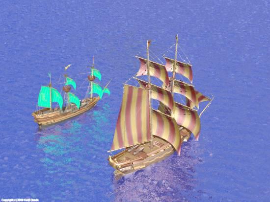 帆船(小)