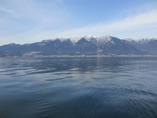 雪の比良山脈 小サイズ