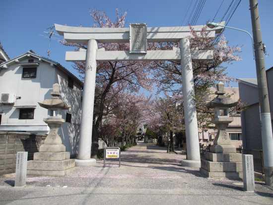 塚口神社 鳥居