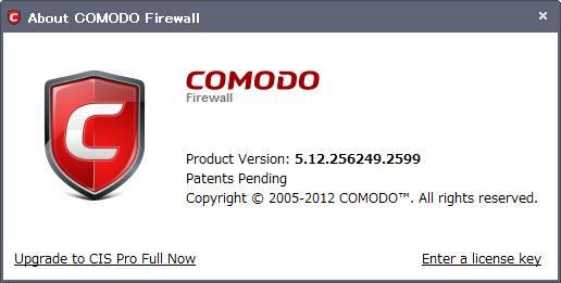 COMODO Firewall 5.12