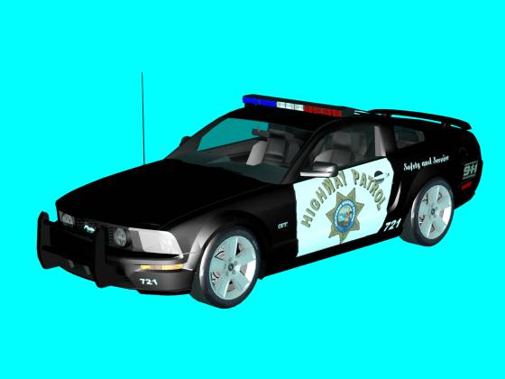 Ford Mustang GT Patrol car