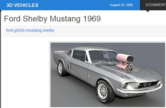 Ford Shelby Mustang 1969 - 3D Models for Maya and 3ds max_w560.jpg