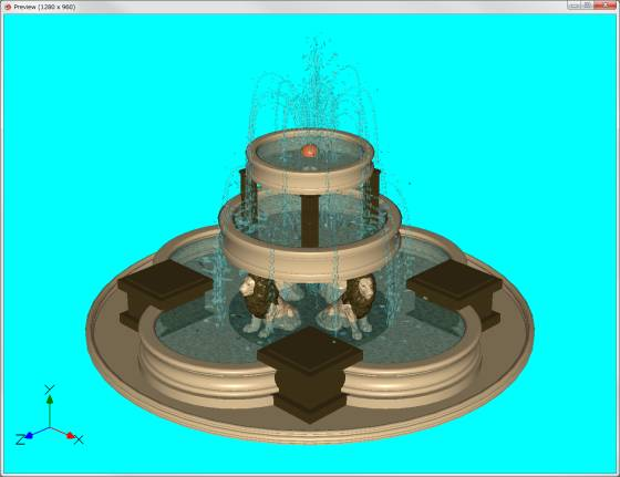 poseray_preview_Lion_Fountain_s.jpg