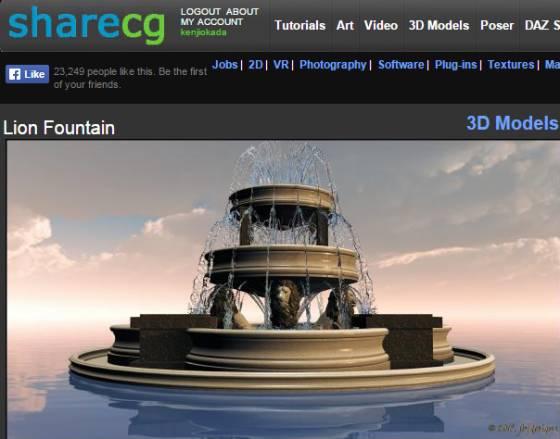 ShareCG_Lion_Fountain_ts.jpg