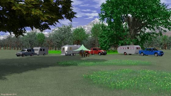 オートキャンプ(2)