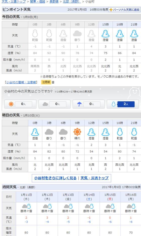 2017-01-09_小谷村の天気   Yahoo 天気・災害.jpg
