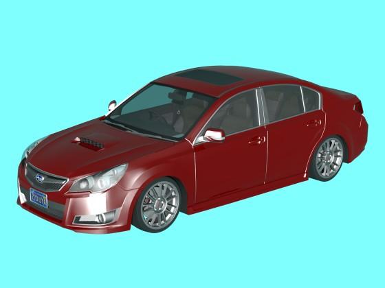 Subaru Legacy B4GT 2010