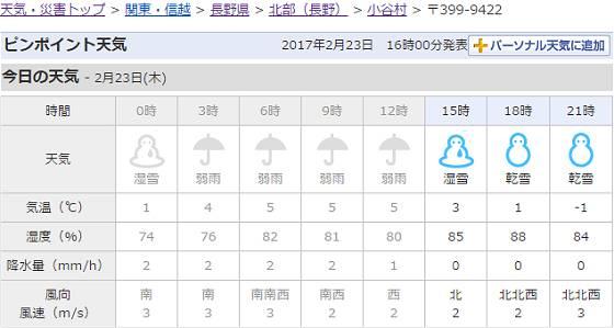 2017-02-23_小谷村(〒399 9422)の天気   Yahoo 天気・災害_s.jpg