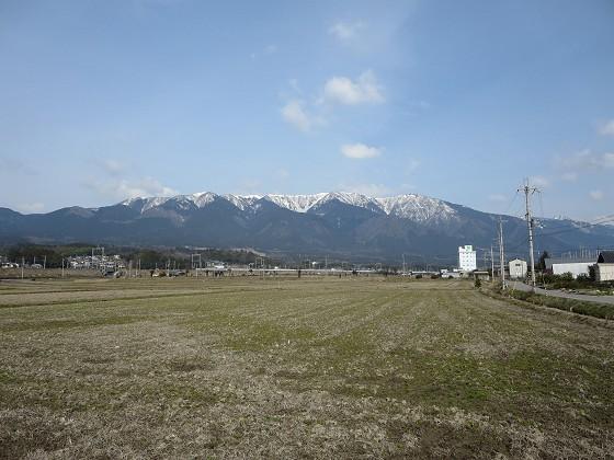雪の比良山脈