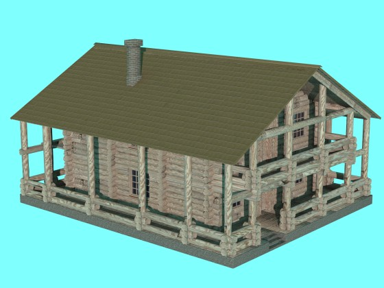 House wooden 04 N070116