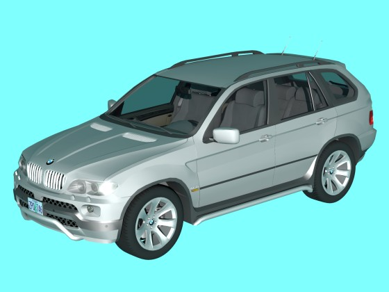 BMW X5 Gray