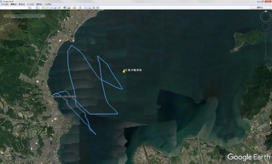 GRSのトラッキングデータをGoogle Earthで表示