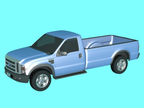Ford F250 from Free3D.com