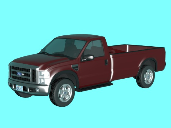 Ford F250 Regular from DMI-3d.net