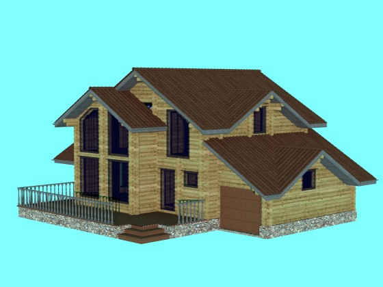 House wooden 02 N070116