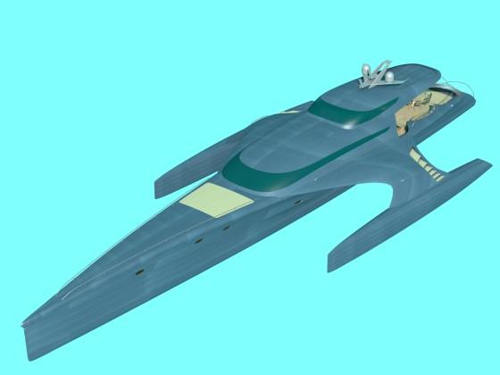 Yacht Trimaran N260617
