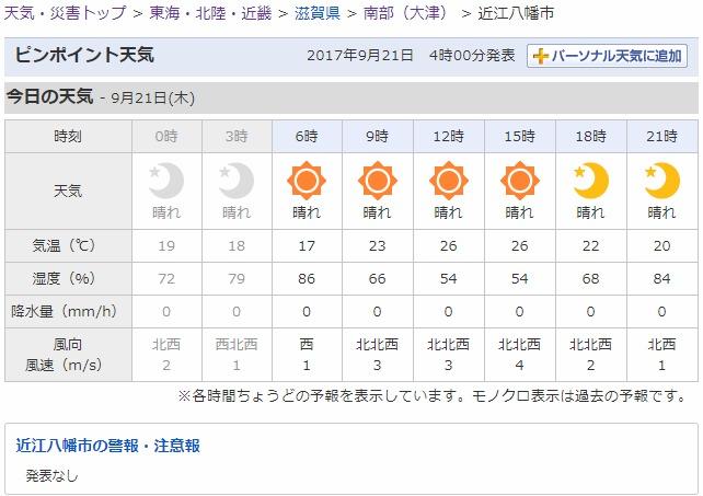 2017-09-21_近江八幡市の天気   Yahoo 天気・災害.jpg