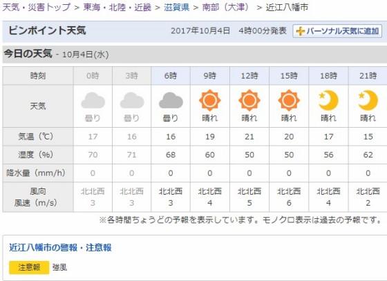 2017-10-04_近江八幡市の天気   Yahoo 天気・災害.jpg