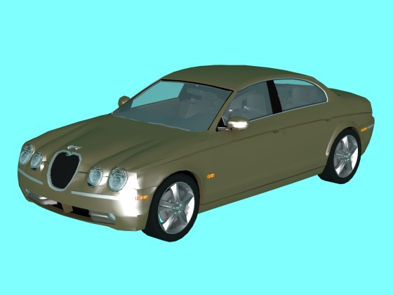 Jaguar S-Type mid-size executive car