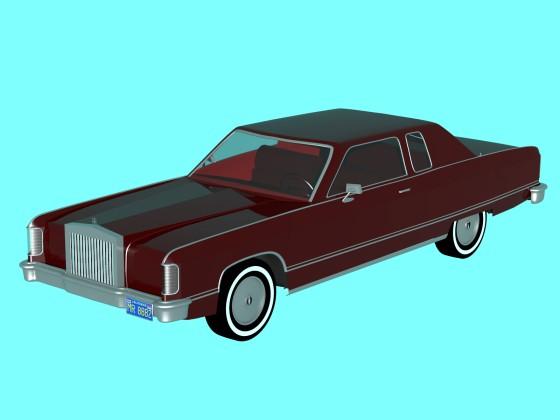 77 Lincoln Continental