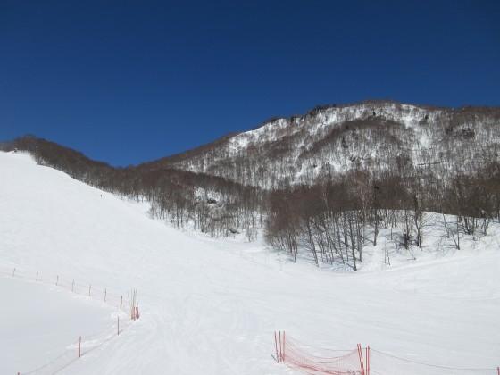 2018-02-22_1106_ハンの木第3クワッドリフトから見た急斜面と馬の背の尾根_IMG_6094_s.JPG