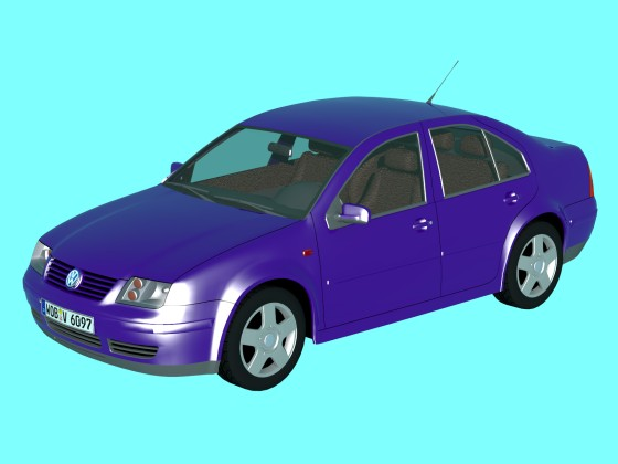 VW Bora 4-door sedan