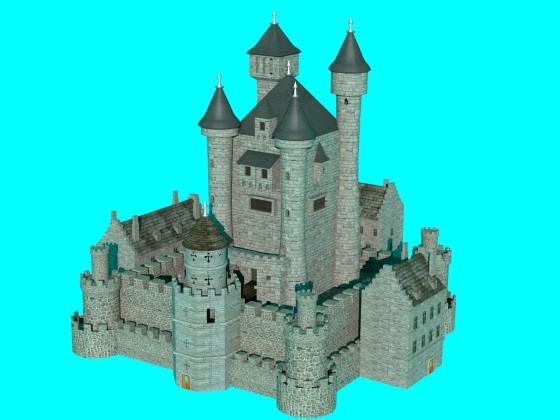 中世風の城