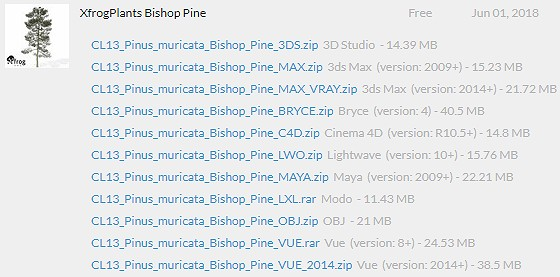 XfrogPlants_Bishop_Pine_data_list_ts.jpg