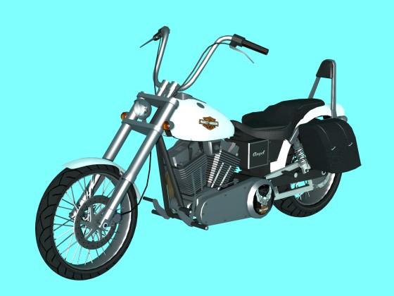 Motorbike Harley Davidson N030818