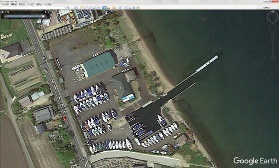 志賀ヨットクラブの全景