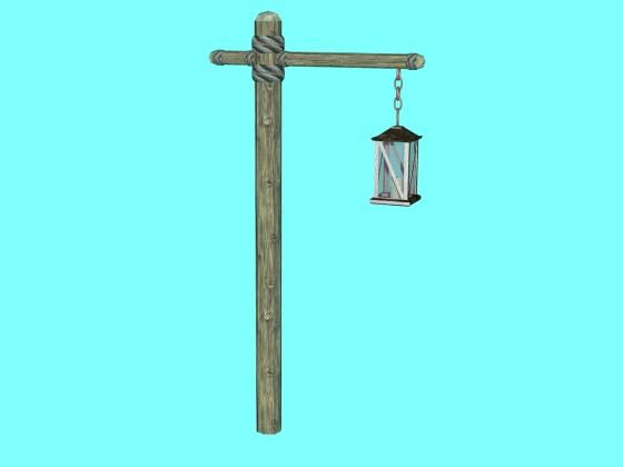 3D Medieval Lantern