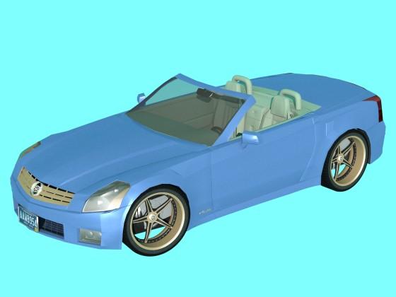Car cadillac XLR N041018