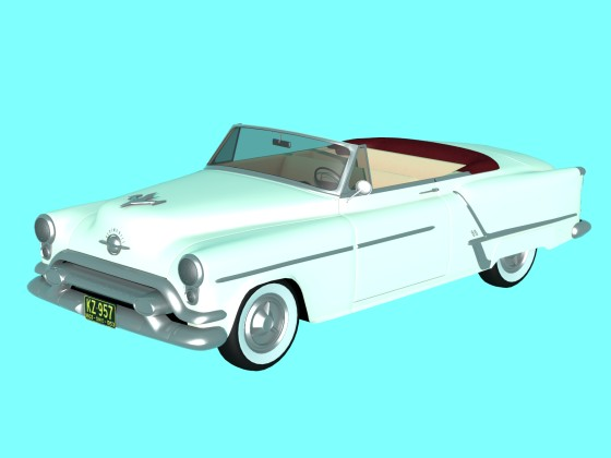 Oldsmobile Super 88 Convertible 1953