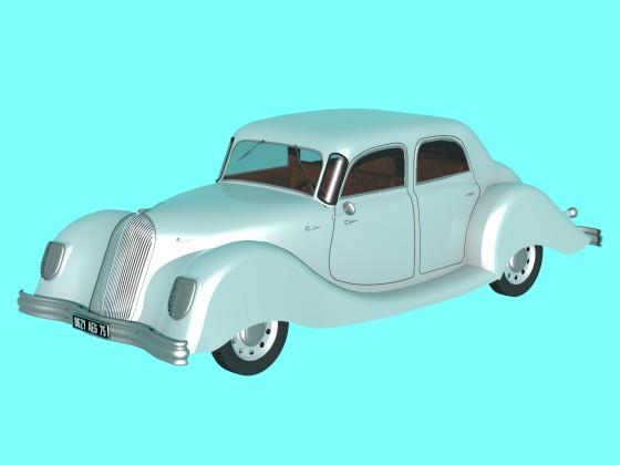 1939 Panhard Dynamic