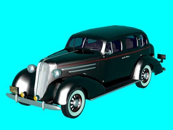 Car Chevrolet 1936 N251218