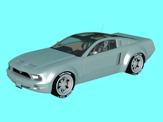 Car mustang xform N220114