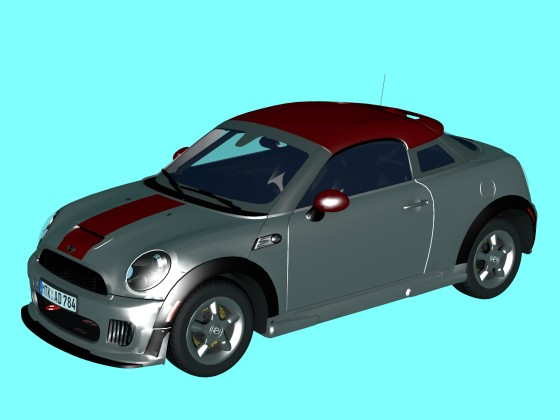 Car 2012 MINI Cooper S Coupe John Cooper Works Forza Horizon N250219