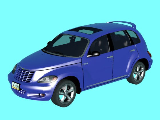 Car 2004 Chrysler PT Cruiser Traffic Forza Horizon N250219
