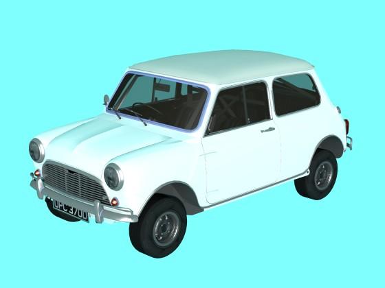 Car 1965 Austin Mini Cooper S Forza Horizon N250219
