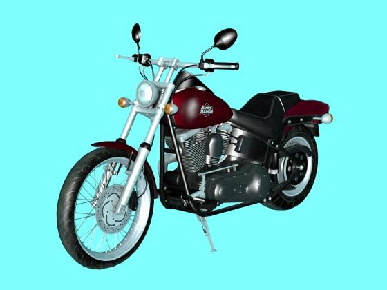 Motorbike Harley Davidson