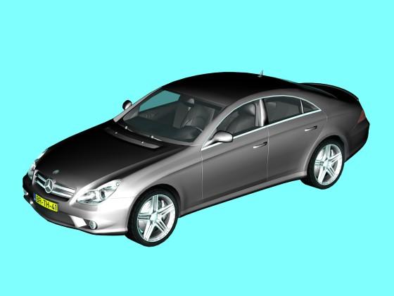 Car Mercedes Benz CLS 63 AMG N081019