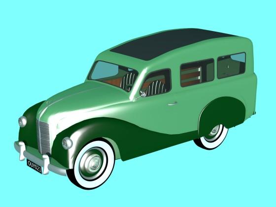 Austin A40 Countryman