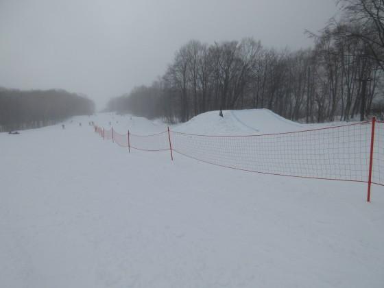 2020-01-29_1008_ハンの木高速ペリフト沿い・コースの半分をネットで仕切ってヒットパーク_IMG_2072_s.JPG