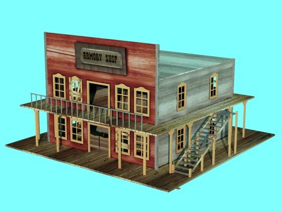 Building 2(Building shop Western)