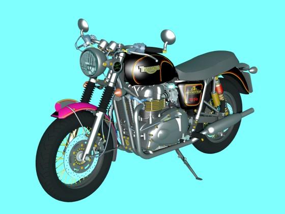 Triumph Bonneville ''Stout''